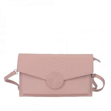 Клатч женский OrsOro CS-0117 палево-розовый