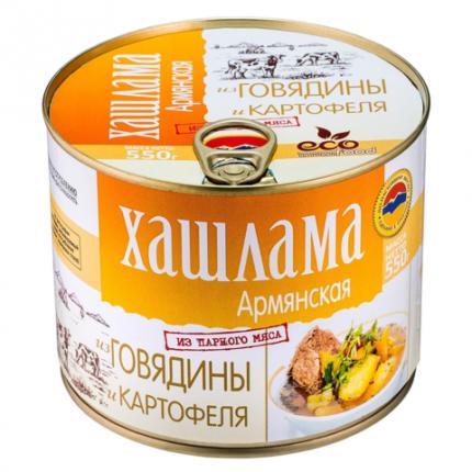 Хашлама армянская из говядины и картофеля Ecofood, 550г