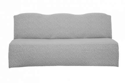 Чехол на трехместный диван без подлокотников Venera, жаккард, цвет светло-серый