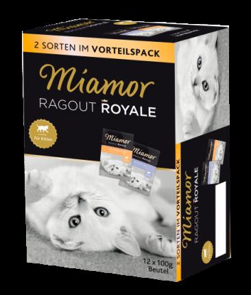 Влажный корм для кошек Miamor Ragout Royal, говядина, птица, 12шт, 100гр