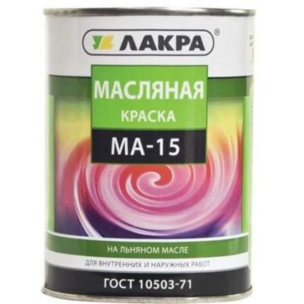 Краска МА-15 Лакра Зеленый 0,9кг