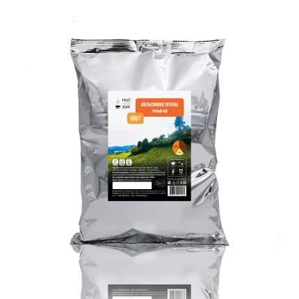 Чай Мосчайторг черный апельсиновое печенье 500 г
