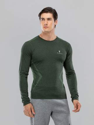 FIFTY Мужская футболка с длинным рукавом Smartknit FA-ML-0103-KHK, хаки - S