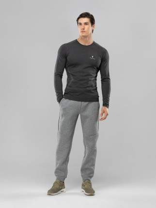 FIFTY Мужская футболка с длинным рукавом Smartknit FA-ML-0103-GRY, серый - S