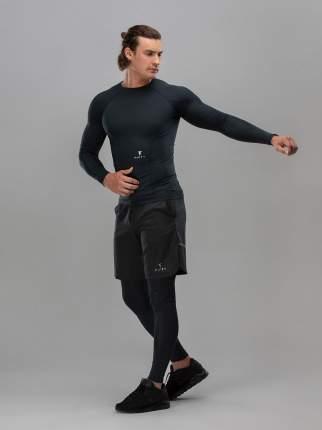 FIFTY Мужская футболка с длинным рукавом High Force FA-ML-0101-BLK, черный - S