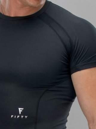 FIFTY Мужская футболка High Force FA-MT-0101-BLK, черный - L