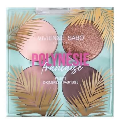 """Палетка теней Vivienne Sabo """"Polynesie Francaise"""", тон 01"""