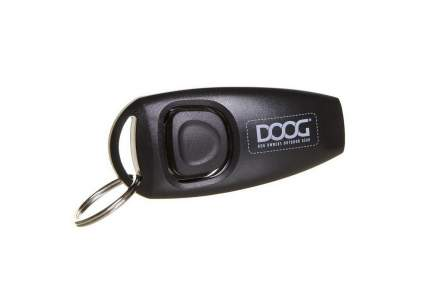Кликер для дрессировки собак Doog черный