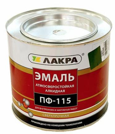 Эмаль ПФ-115 Лакра Коричневый 2,8кг
