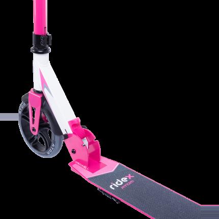 Самокат Ridex Atom белый/розовый