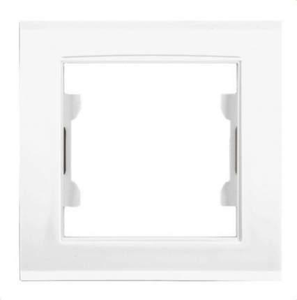 Рамка одинарная Zakru BIEN (Белый)
