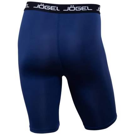 Шорты компрессионные Jögel Camp Tight Short PERFORMDRY JBL-1300-091, темно-синий/белый, XS