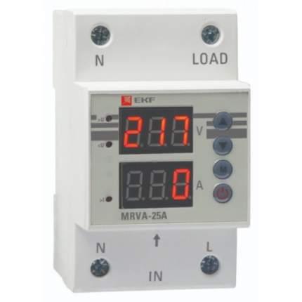 Реле напряжения и тока с дисплеем EKF MRVA-40A MRVA 40A EKF PROxima