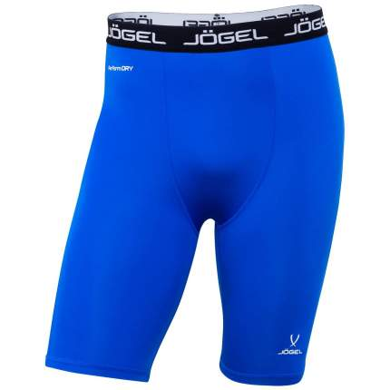 Шорты компрессионные Jogel Camp Tight Short Performdry, синие/белые, XL
