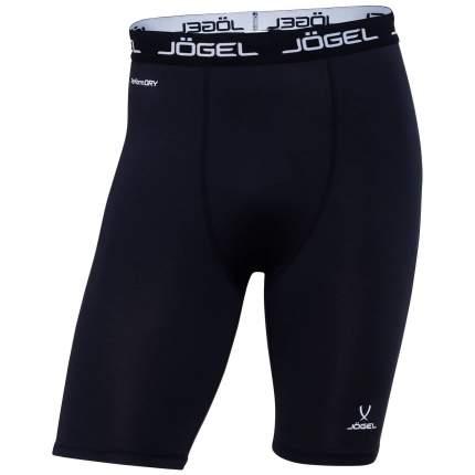 Шорты компрессионные Jogel Camp Tight Short Performdry, черные/белые, L