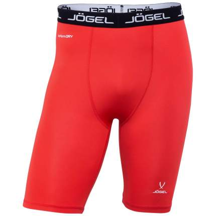 Шорты компрессионные Jogel Camp Tight Short Performdry, красные/белые, XL