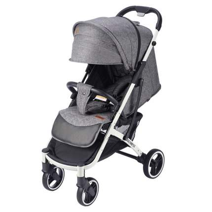 Прогулочная коляска Dearest Yoya Plus Pro Max 2020 Серая белая рама