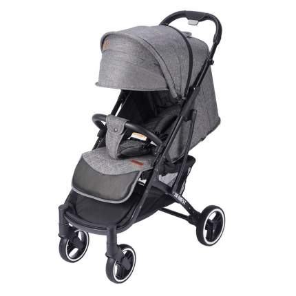 Прогулочная коляска Dearest Yoya Plus Pro Max 2020 Серая черная рама