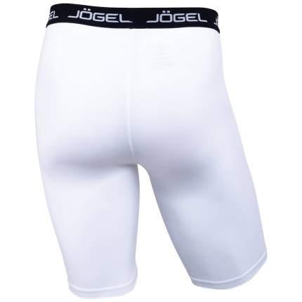 Jögel Шорты компрессионные Camp Tight Short PERFORMDRY JBL-1300-016, белый/черный - XL