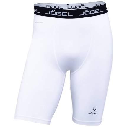 Шорты компрессионные Jogel Camp Tight Short Performdry, белые/черные, XL