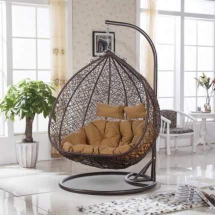 Кресло подвесное Афина-мебель AFM-109B Brown