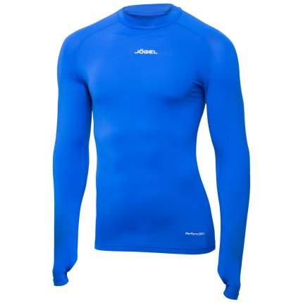 Лонгслив компрессионный Jogel Camp Top Performdry, синий/белый, L