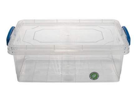 Контейнер ElfPlast Fresh Box slim, прозрачный, 3.8 л