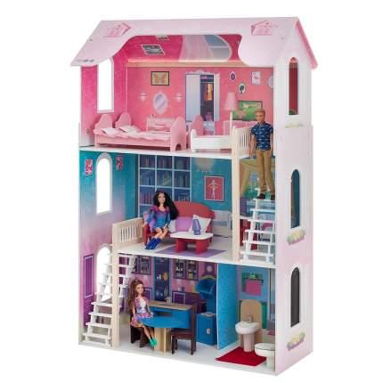 Дом кукольный Paremo Вдохновение розовый PD315