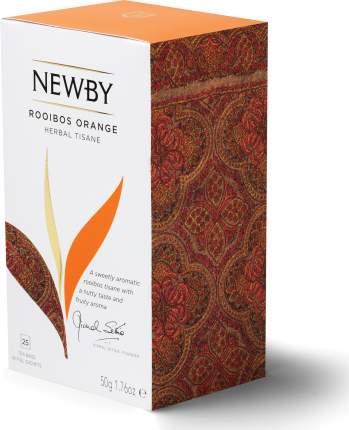 Чайный напиток NEWBY  Ройбос Апельсин 25*2 50г