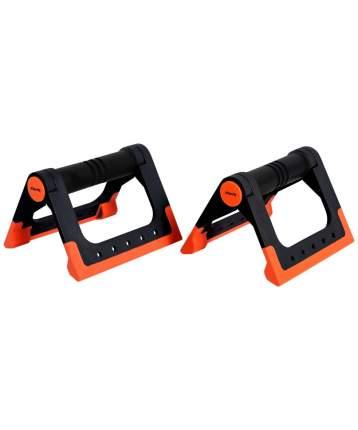 Starfit Упоры для отжиманий BA-304, cкладные, черный/оранжевый