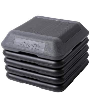 Степ-платформа Starfit SP-401 40х40х30 см, 5-уровневая