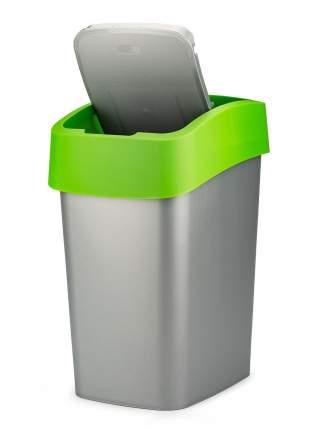 Контейнер для мусора FLIP BIN 25л зеленый