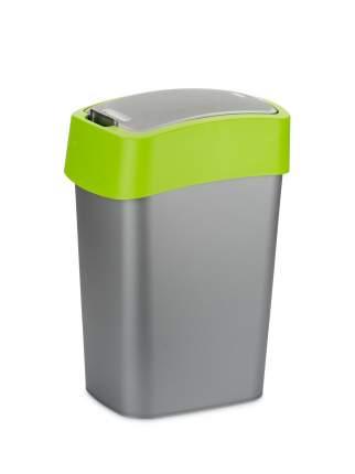 Контейнер для мусора FLIP BIN 10л зеленый