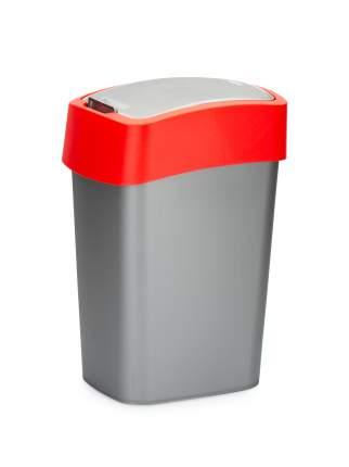 Контейнер для мусора FLIP BIN 10л красный