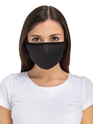 Многоразовая защитная маска Routemark Spiro черная 1 шт.