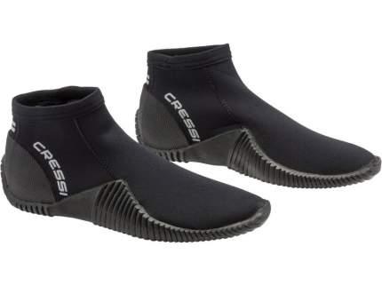 CRESSI-SUB Тапки неопреновые пляжные/коралловые low boot черные 3мм