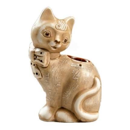 Аромалампа Кошка Lapochka керамика
