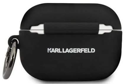 Чехол Karl Lagerfeld Silicone Case (KLACAPSILGLBK) для AirPods Pro Black