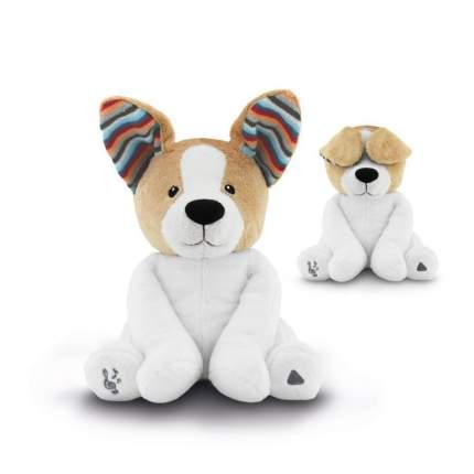 Музыкальная мягкая игрушка ZAZU Собака Дэнни для игры в прятки