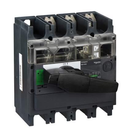 Выключатель-разъединитель SE Interpact INS/INV 3P 630А рукоятка спереди