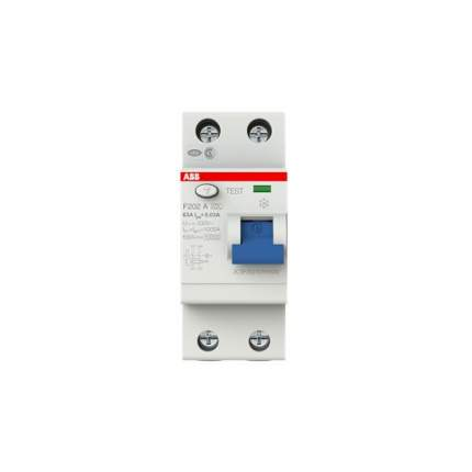 Автоматический выключатель ABB F202A УЗО 2Р 63А 30mA (А)