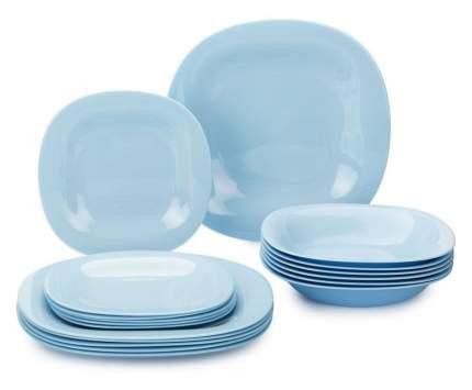 Набор столовой посуды LUMINARC 18 предметов CARINE LIGHT BLUE