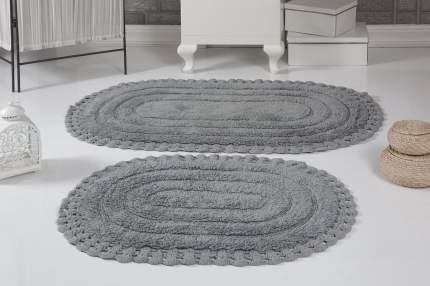 Набор ковриков для ванной MODALIN, MERIT, 2 предмета, серый