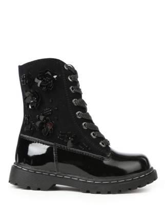 Ботинки ZEBRA 458196 цв.черный р.27
