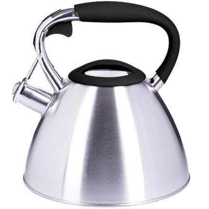 Чайник MAYER & BOCH, 3 л, серебро, со свистком