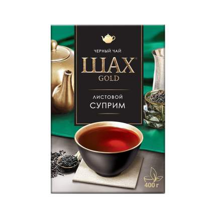 Чай черный листовой Шах Gold Суприм 400 г