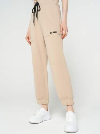 Спортивные брюки женские ТВОЕ 69079 бежевые M