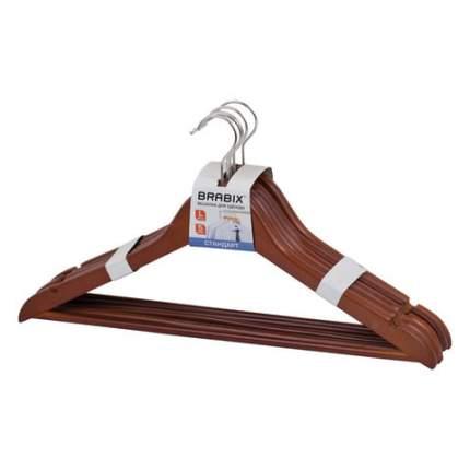 Набор вешалок для верхней одежды BRABIX, 45 см, 48-50, 5 шт