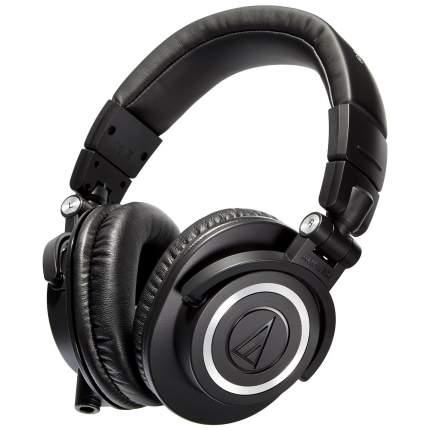 Наушники Audio-Technica ATH-M50X Black