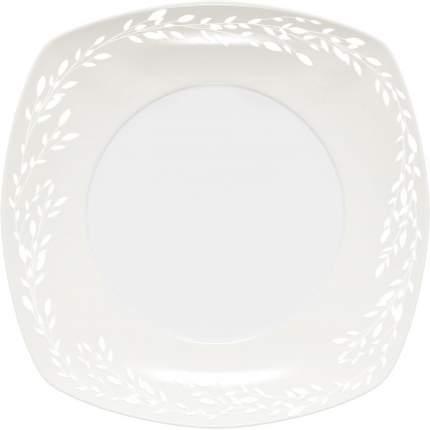 Тарелка десертная DOMENIK, WILLOW WHITE, 19x19 см